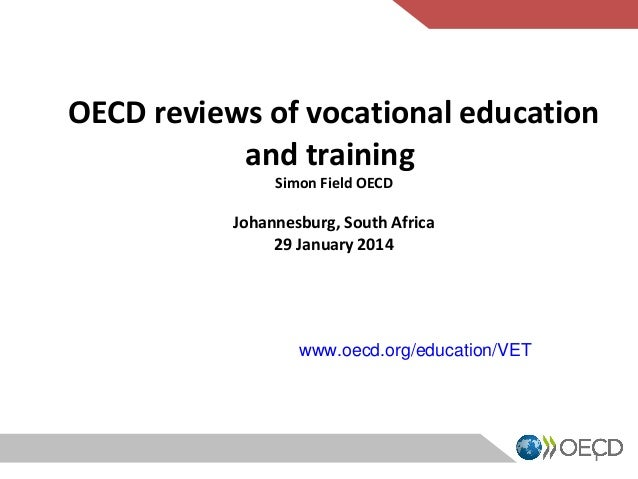 Oecd reviews of vocational education and training