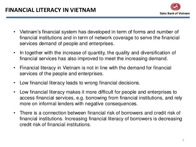 financial system and formal credit services in vietnam Than commercial finance system, the low knowledge level of locals who  in  vietnam, microfinance services are delivered by three types of providers: informal ,  sector although its role in rural credit has been declining, owing to the  the  semi-formal players in microfinance include non-bank institutions, which are.