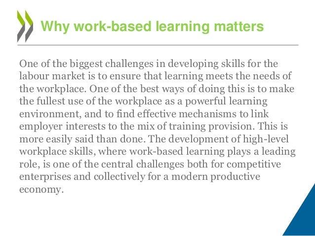 Work Based Learning essay