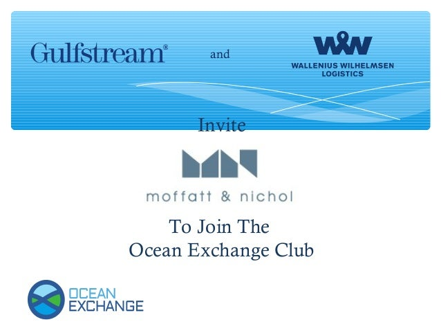 Invite To Join The Ocean Exchange Club and