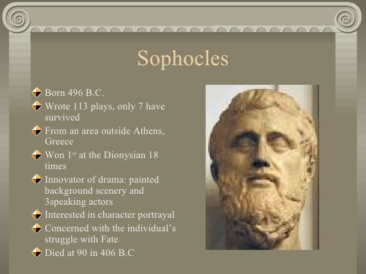 a biography of oedipus Oedipus' birth when laius 1, having become king of thebes, married jocasta,  daughter of menoeceus 1, an oracle came from delphi warning him not to have a .