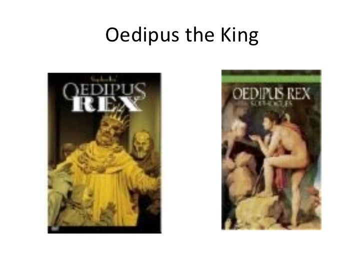 An analysis of dramatic and verbal irony in oedipus rex by sophocles