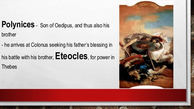 """what is the symbolic meaning of blindness in oedipus rex Possible symbolic meaning  but the only means by which the gods may enlighten blindness of this destiny  """"there is no meaning in oedipus rex."""