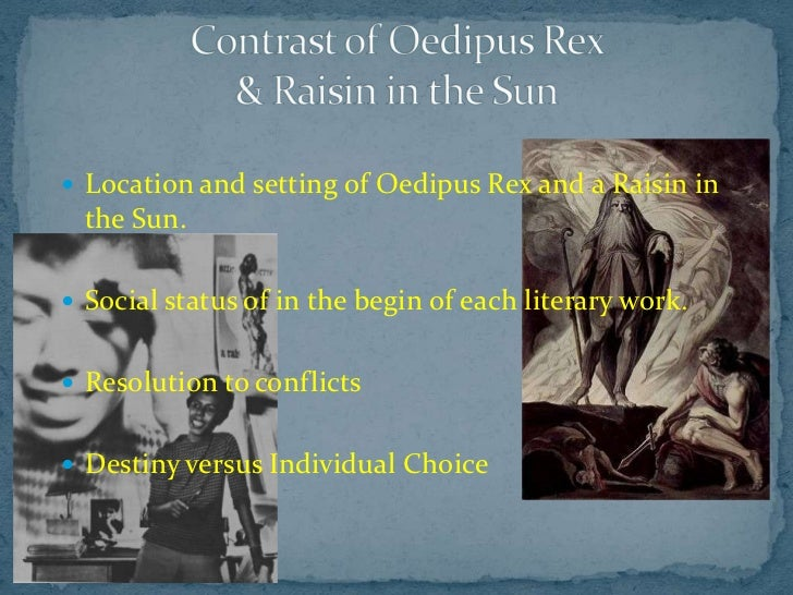 Oedipus: The Tragedy of Fate
