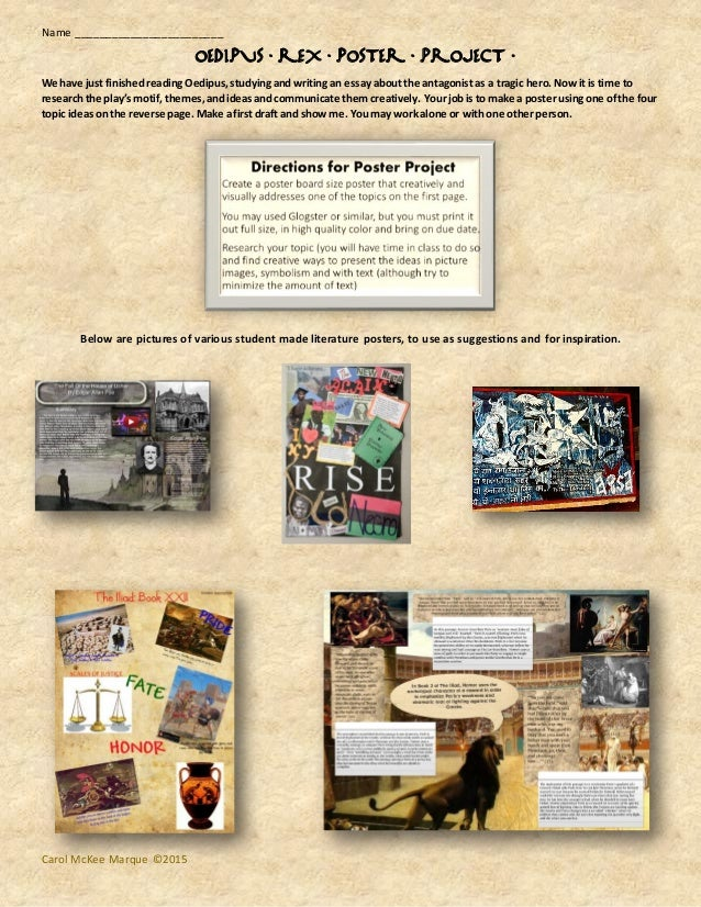 Create a Wanted Poster for a School Project – Story, Novel or Play