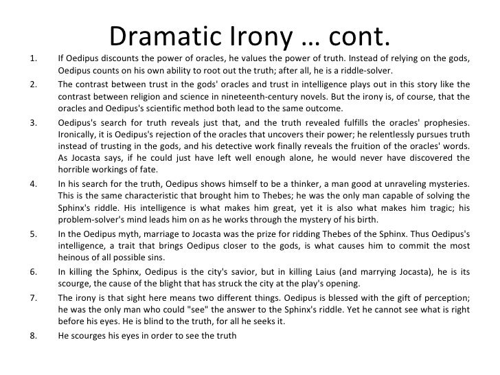 the scarlet letter dramatic irony essay Summary: dramatic and situational irony play a major role in adding to the conflict and significance of the plot in nathaniel hawthorne's novel the scarlet letterwithout these types of irony, the novel would be without its signature conflicts and wouldn't have the effect or meaning that it does on its readers.