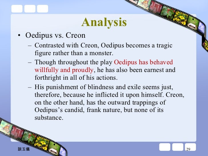 argumentative essay oedipus rex This essay seeks to prove that oedipus the king is indeed the perfect model of a tragedy in the this is a free summary of oedipus the king by sophocles.
