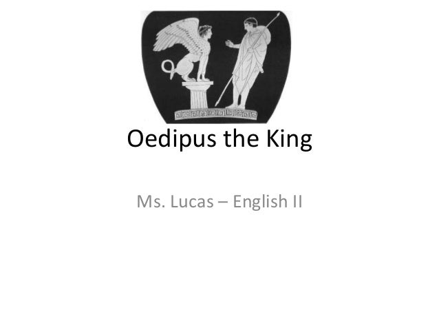Empaty in oedipus the king
