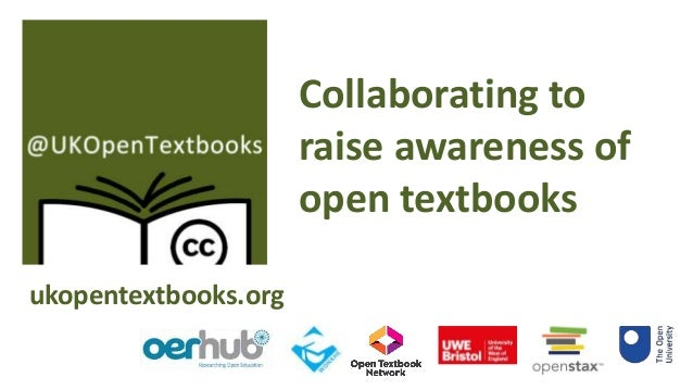 Open Innovation on Tour: Bringing Open Textbook to a UK Audience Slide 2
