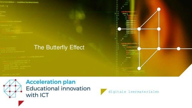 digitale leermaterialen The Butterfly Effect