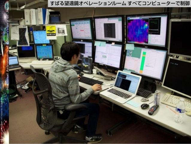 すばる望遠鏡オペレーションルーム すべてコンピューターで制御imp_DC2013_OE 5