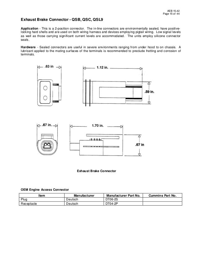 Exhaust Brake Wiring Diagram