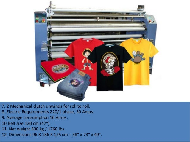 OEM Factory Price Of Roll To Roll Heat Press Transfer Machine
