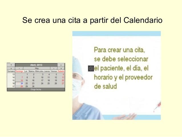 Historia Clínica digital - Sistema OpenEMR - Instructivo de uso - Parte 3 Slide 2
