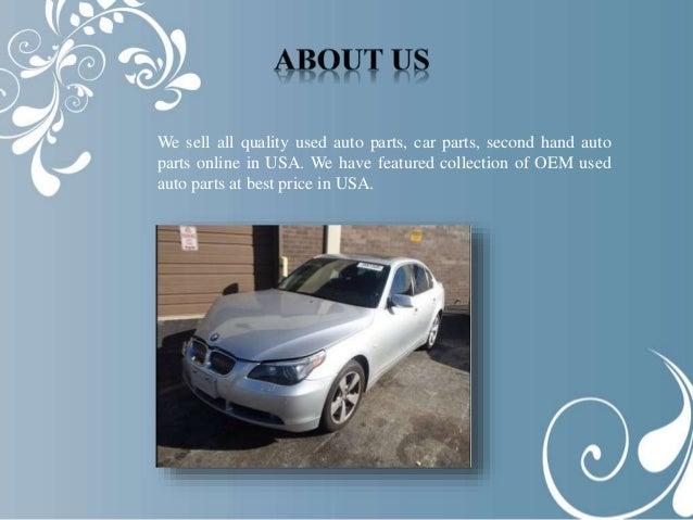 Oem Used Auto Parts Usa