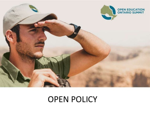 OPEN POLICY