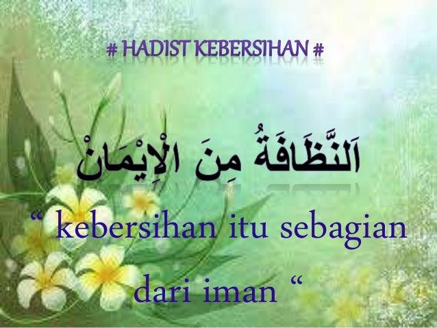 Hadits Kebersihan Dari Iman - Nusagates