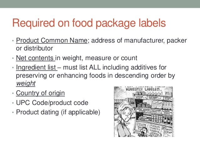 oer dietary planning and food labels pptx
