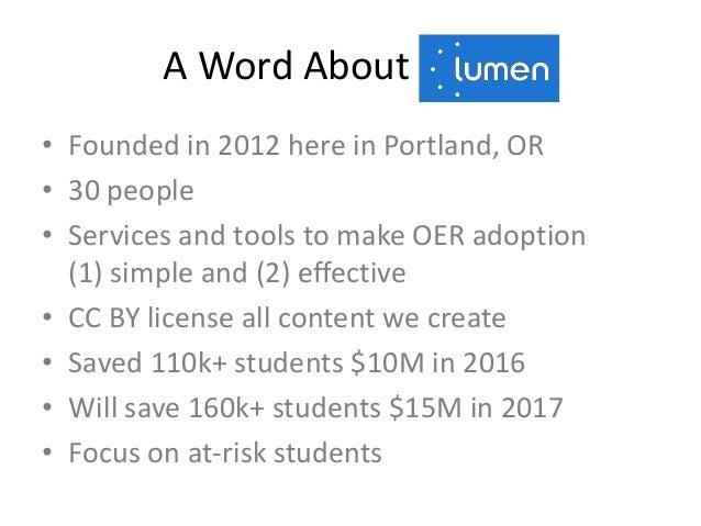 OER-Enabled Pedagogy Slide 3