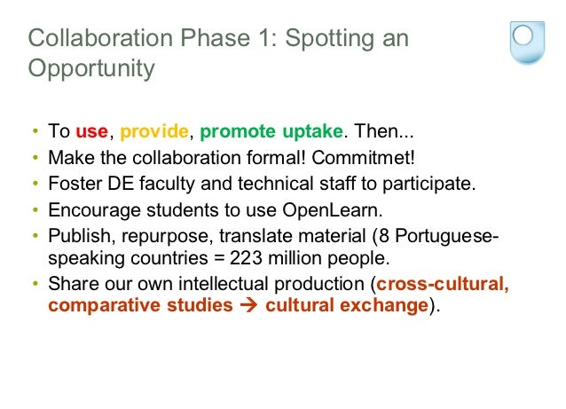 """Collaboration Phase 3: Towards OERAcculturation•   """"+ in June"""" Programme 2009:•   The Concept of Innovation (215 students)..."""