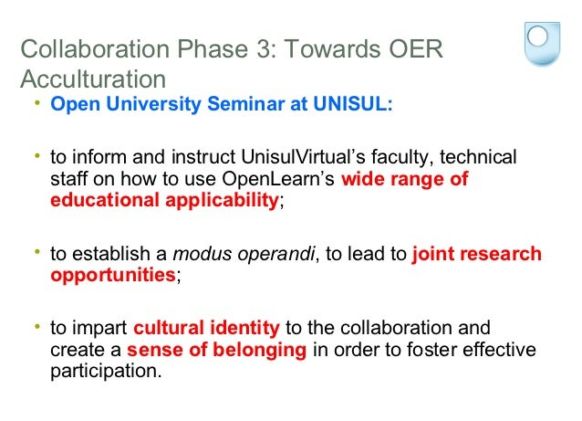 Cultural Imperialism or Multicultural Mix: promoting OER reuse through collaboration