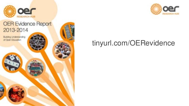 Building Understanding of Open Education: An Overview of the Impact of OER on Teaching & Learning Slide 2
