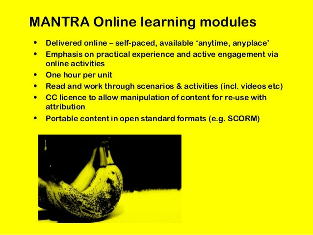 • Deposit learning materials with an open licence in JorumOpen and Xpert • Learning materials to be embedded in three part...