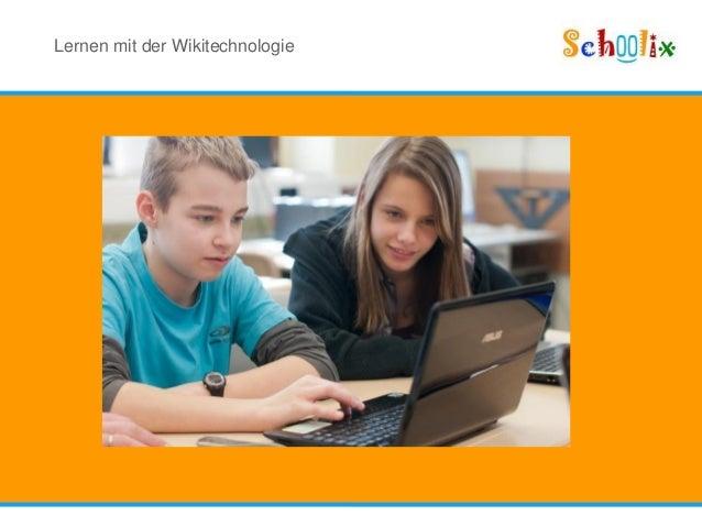 Lernen mit der Wikitechnologie