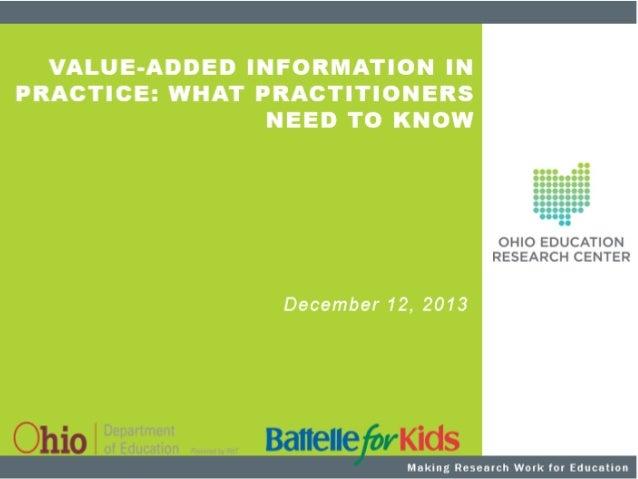 © 2013, Battelle for Kids. All Rights Reserved.