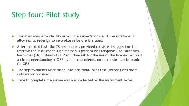 how to develop a survey instrument