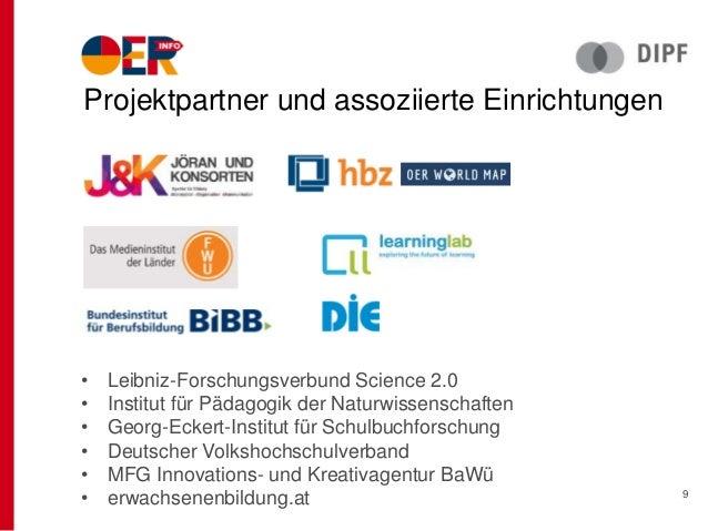 • Leibniz-Forschungsverbund Science 2.0 • Institut für Pädagogik der Naturwissenschaften • Georg-Eckert-Institut für Schul...
