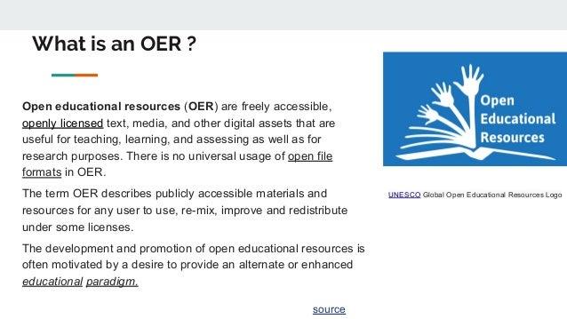 Oer   open educational resources (1) Slide 2
