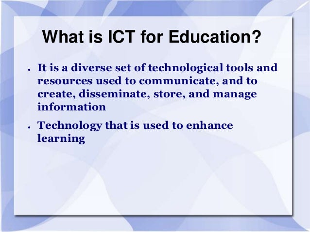 importance of information technology integration in educational institution education essay When pioneering educational technology advocate jan hawkins wrote an essay for edutopia in 1997, the world at your fingertips: education technology opens doors, about how technology brings the tools of empowerment into the hands and minds of those who use them, she couldn't have known her words would be even more relevant today.