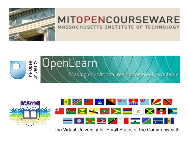 The Virtual University for Small States of the Commonwealth