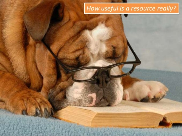 How useful is a resource really?