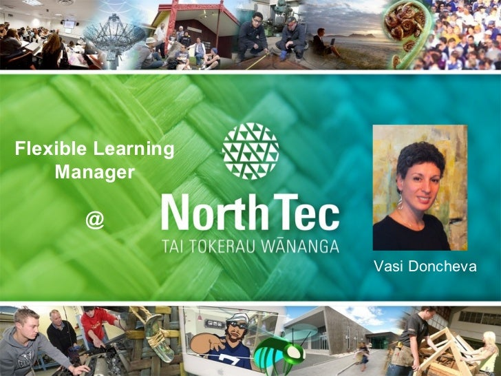 Flexible Learning    Manager       @                    Vasi Doncheva