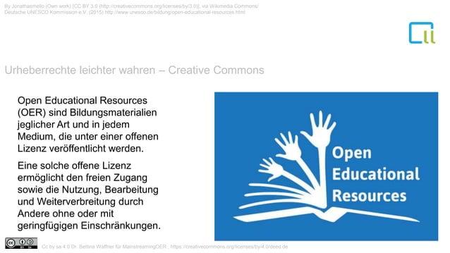 Urheberrechte leichter wahren – Creative Commons 1 By Jonathasmello (Own work) [CC BY 3.0 (http://creativecommons.org/lice...