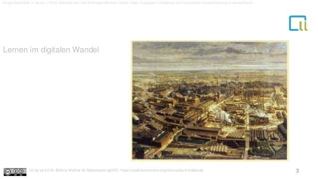 Lernen im digitalen Wandel Krupp Stahlfabrik in Essen, (1912) Gemälde von Otto Bollhagen/Bremen Quelle: https://luipogym1....
