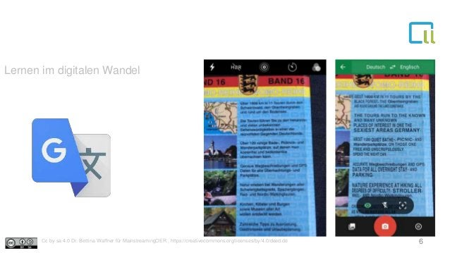 Lernen im digitalen Wandel 6Cc by sa 4.0 Dr. Bettina Waffner für MainstreamingOER , https://creativecommons.org/licenses/b...