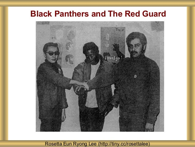 Black Panthers and The Red Guard Rosetta Eun Ryong Lee (http://tiny.cc/rosettalee)