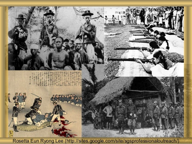 History of Conflict Rosetta Eun Ryong Lee (http://sites.google.com/site/sgsprofessionaloutreach/)