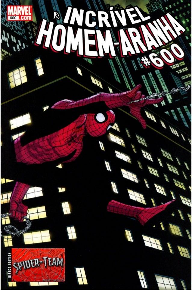 O espetacular homem aranha 600