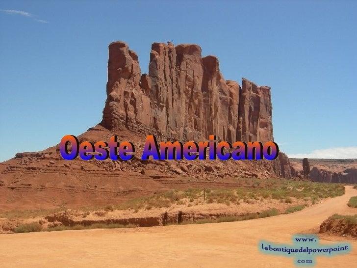 Oeste Americano