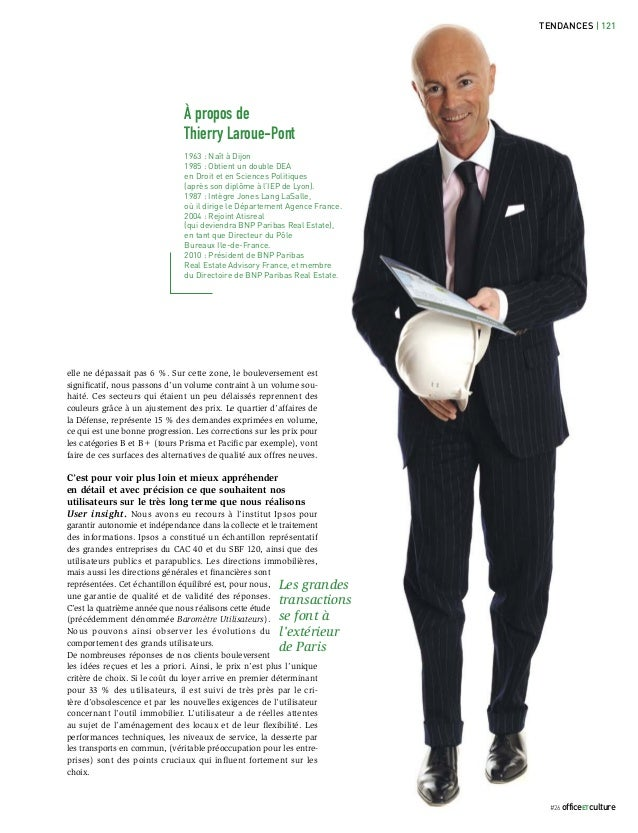 TENDANCES | 121                               À propos de                               Thierry Laroue-Pont               ...