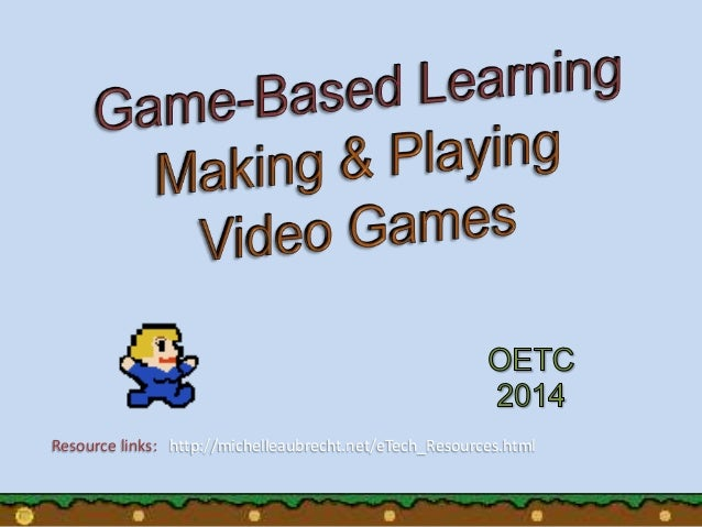 Resource links: http://michelleaubrecht.net/eTech_Resources.html