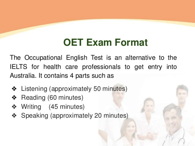 how to prepare oet exam