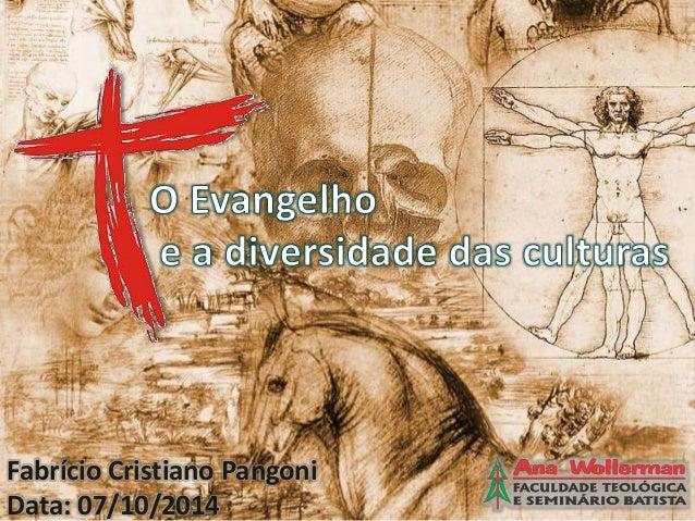 Fabrício Cristiano Pangoni  Data: 07/10/2014