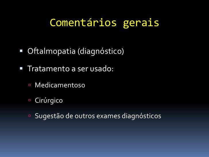 O exame oftalmológico completo