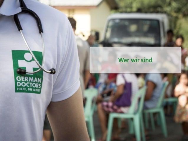 German Doctors e.V. Socialbar Frankfurt Slide 2