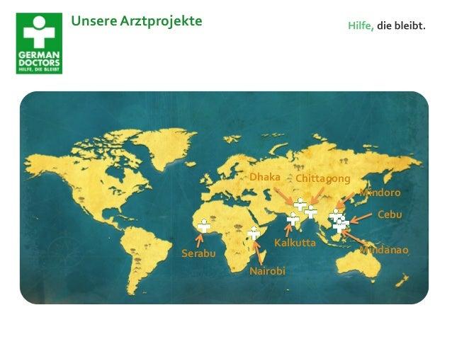 German Doctors e.V. Socialbar Frankfurt Slide 3